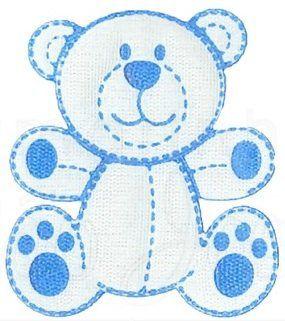 Aplique termocolante Urso C101 -10 cm