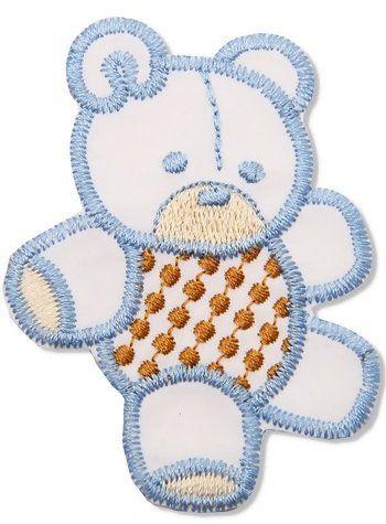 Aplique termocolante Urso C114 -10 cm