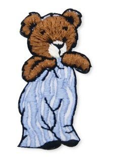 Aplique termocolante Urso C130 -10 cm