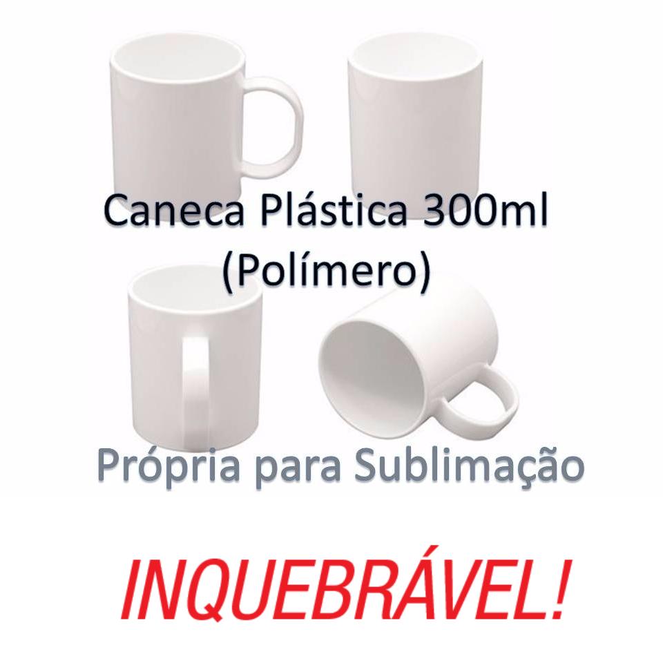Caneca Polimero Para Sublimação ou Laser 300ml