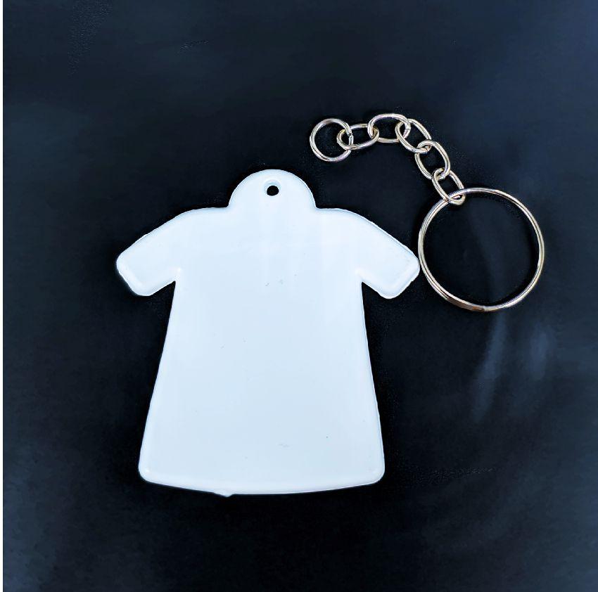 Chaveiro Camiseta Sublimação ou Laser