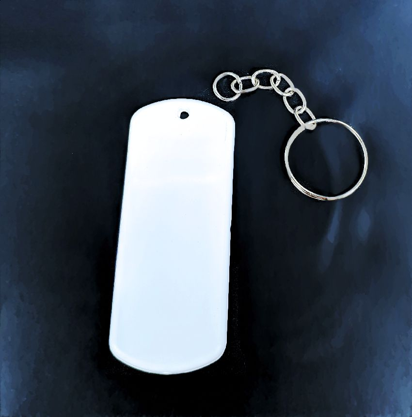 Chaveiro Tag Militar Sublimação ou Laser
