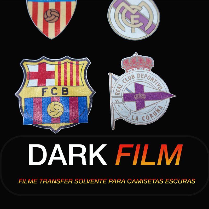 Dark Film - Transfer para tecidos e chinelos - Eco Solvente UV Latex - 95 cm