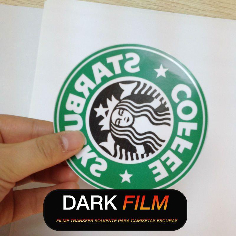 Dark Film - Transfer para tecidos e chinelos - Eco Solvente UV Latex - 47 cm