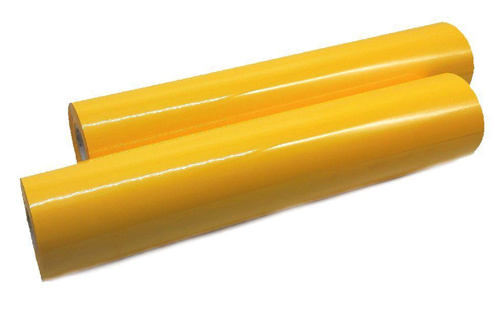 Foil Amarelo Fosco - Americano - 30 cm largura