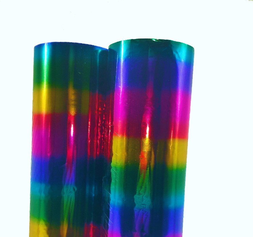 Foil Arco Íris - Americano - 30 cm largura