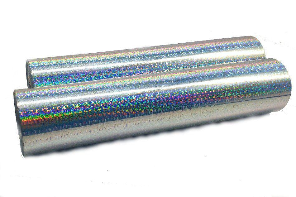 Foil Glitter Prata - Americano - 30 cm largura