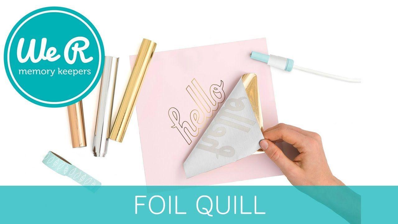 Foil Quill Hot Stamping - Violeta - 30 cm
