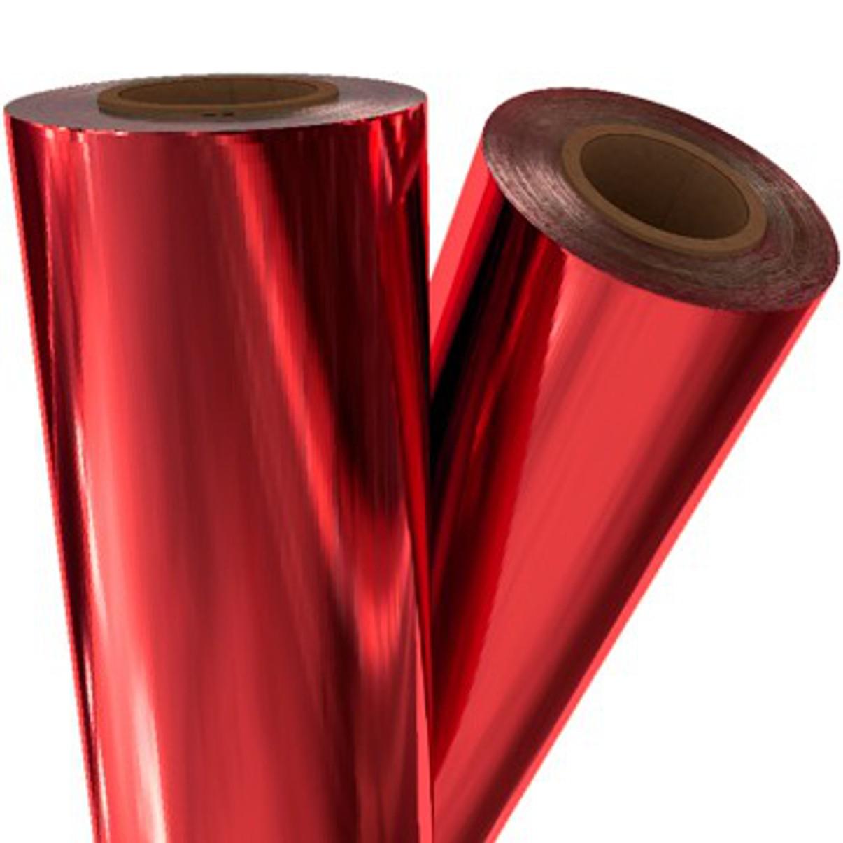 Foil Vermelho - Americano - 30 cm largura