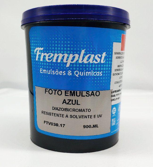 FOTO EMULSÃO AZUL - RESISTENTE A SOLVENTE - 900 ML