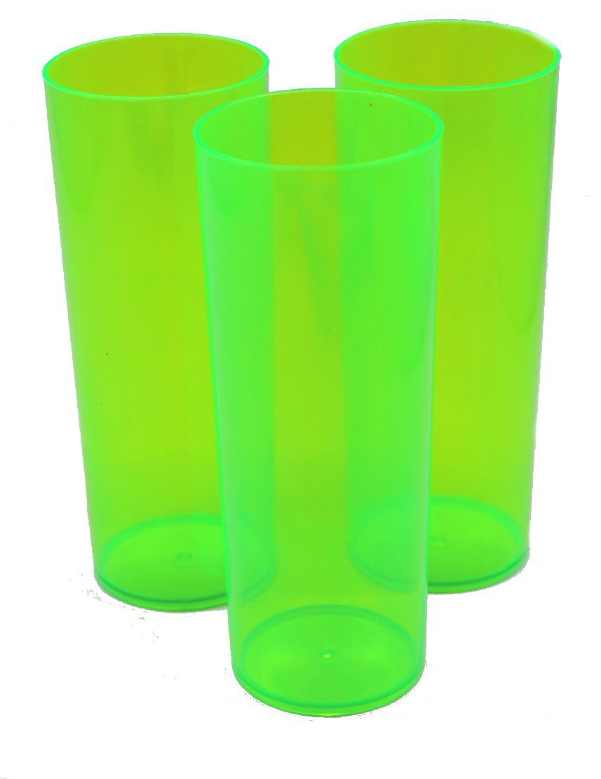Long Drink p/ Transfer 350ml - Verde Neon
