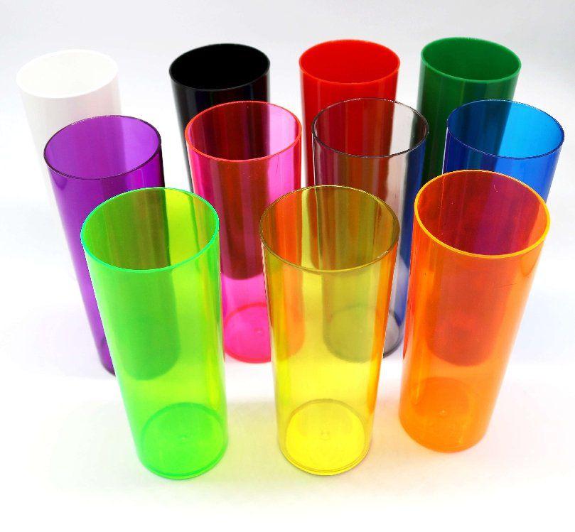 Long Drink p/ Transfer 350ml - Verde Neon