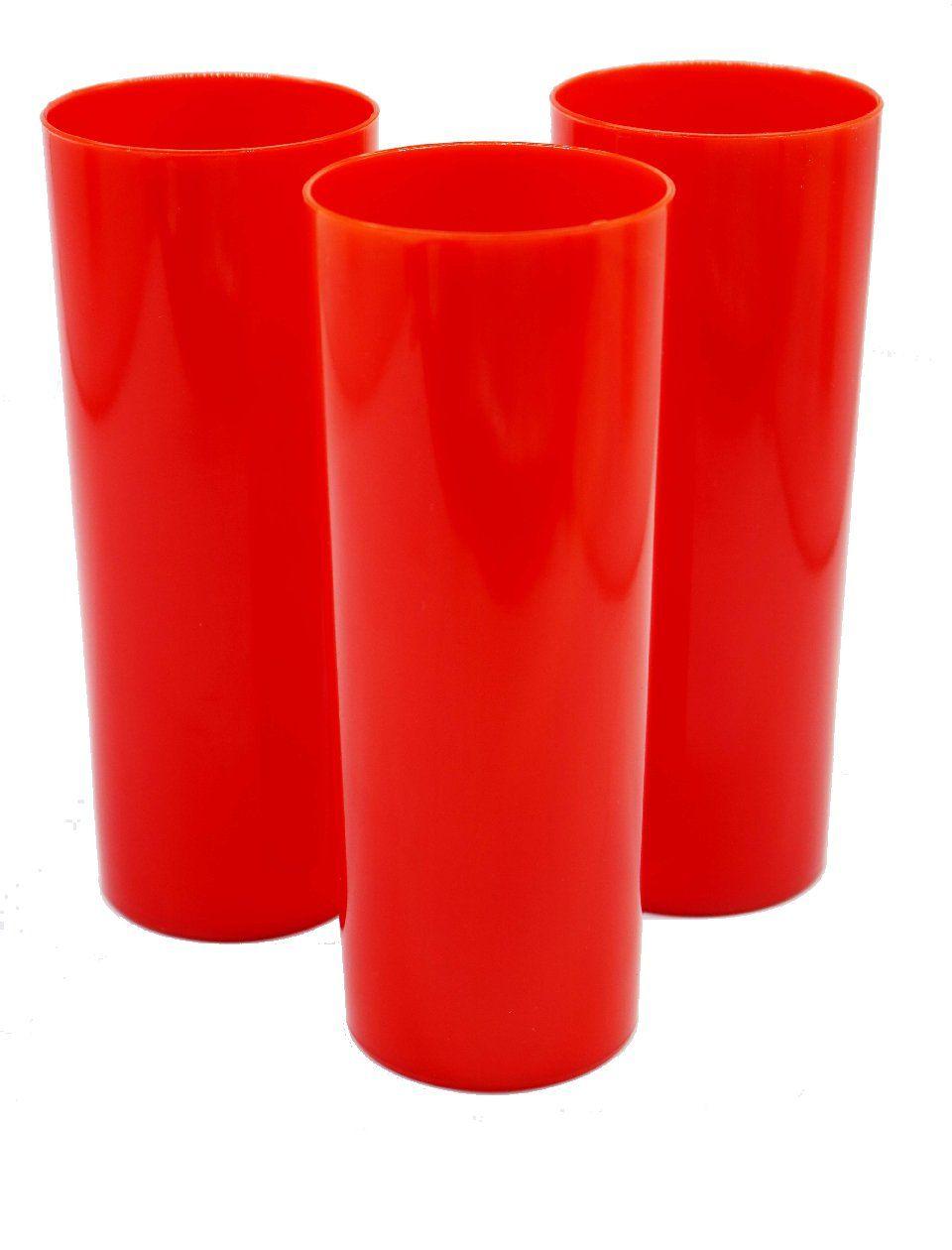Long Drink p/ Transfer 350ml - Vermelho