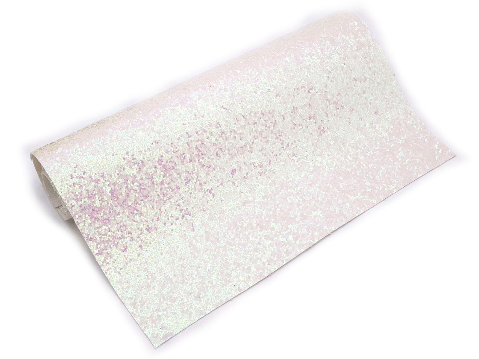 Lonita Glitter Branca - Furta Cor - Sublimação 25 Cm