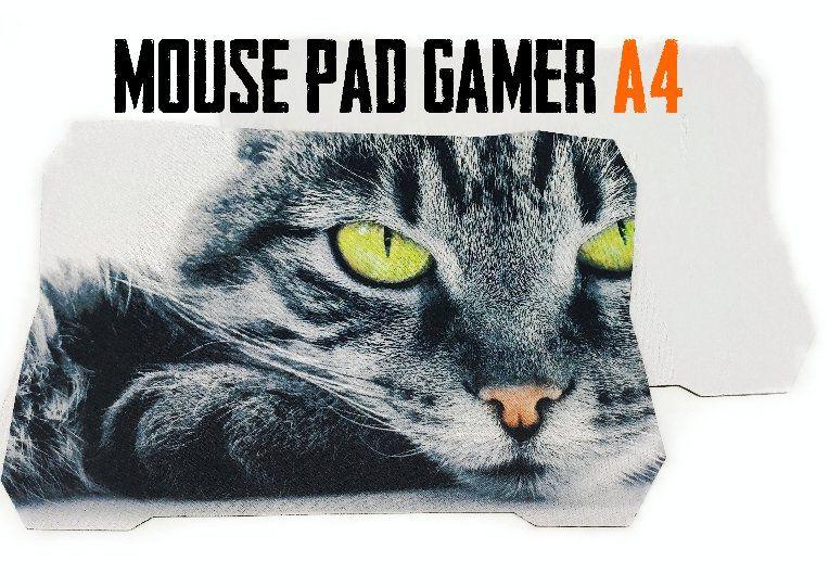 Mouse Pad Gamer A4 Sublimação 20 x 29 cm
