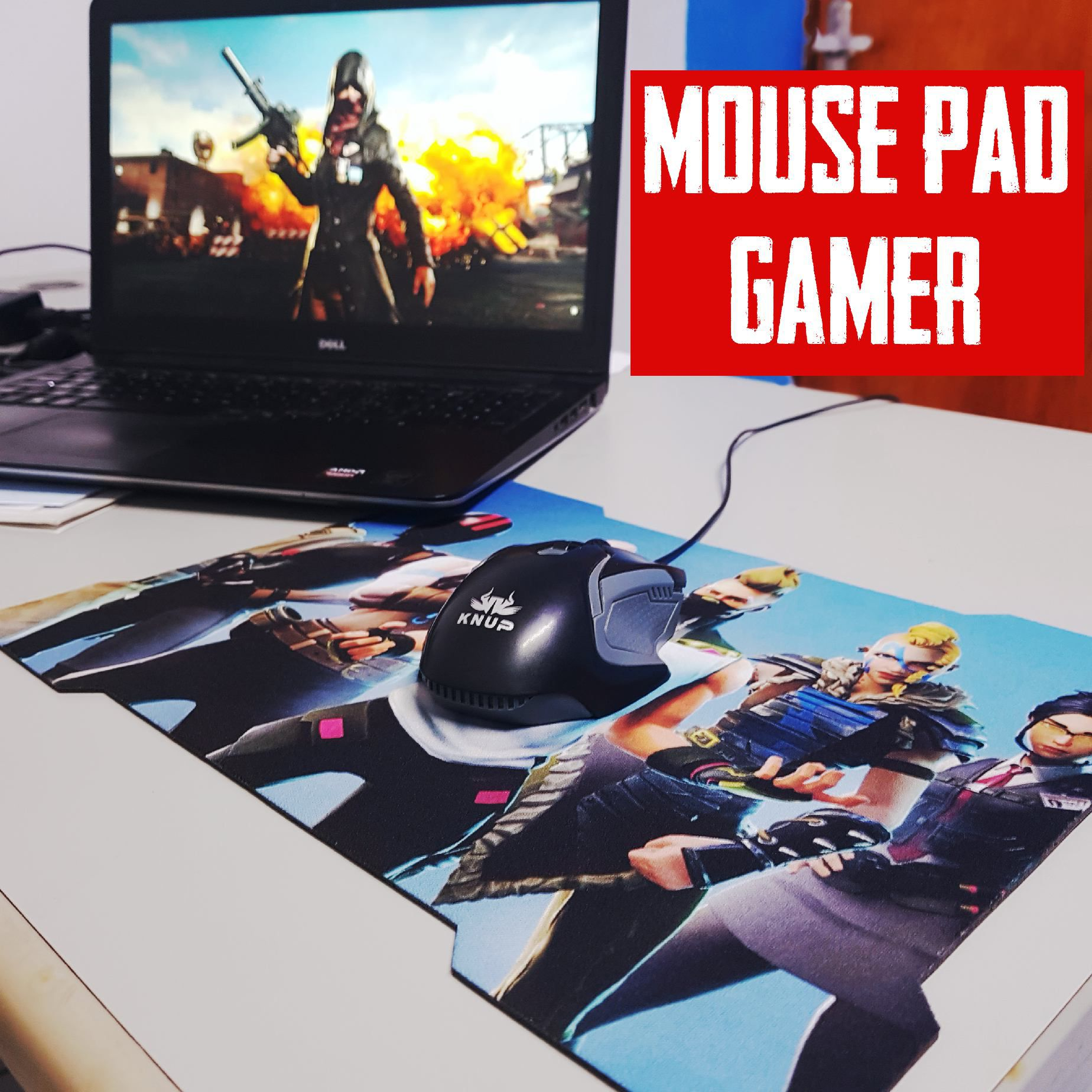 Mouse Pad Gamer Sublimação 25 x 35 cm