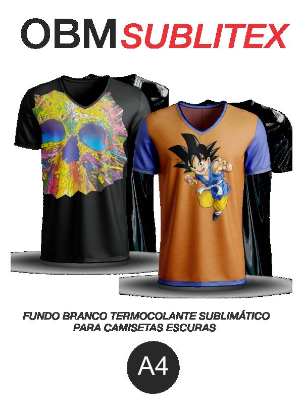 OBM Sublitex - Termocolante Sublimático para Camisetas Escuras - A4