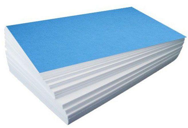 Papel Sublimático Fundo Azul 90 grs. - 100 fl A4