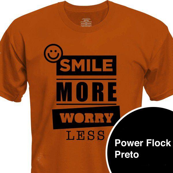 Power PU Flock - Flocado - Preto - 60 cm