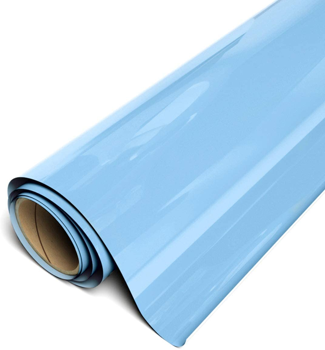 Power PU - Termocolante Recortável -Azul Bebe - 30 cm