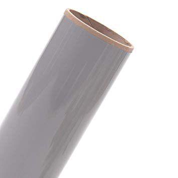 Power PU - Termocolante Recortável - Cinza Prata - 60 cm