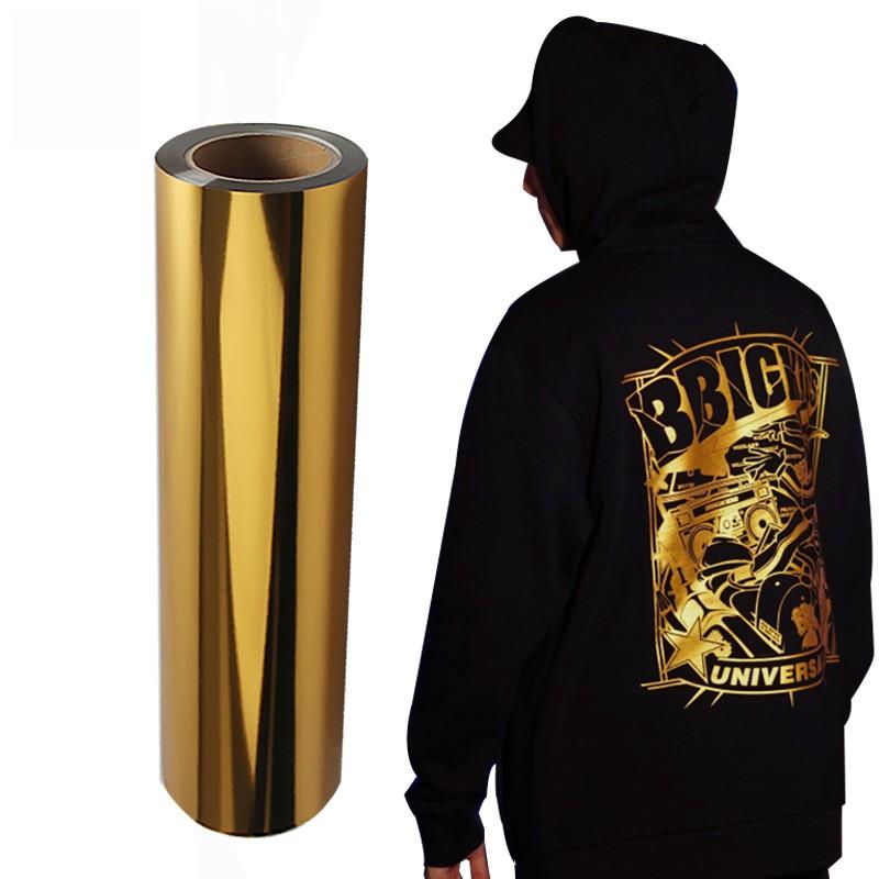 Power PU - Termocolante Recortável - Ouro Metálico - 60 cm