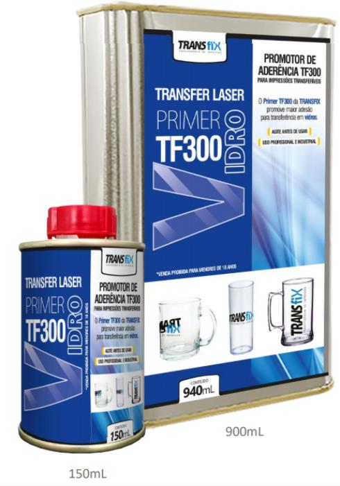 Primer para Vidro  - Primer Transfer Laser TF300 - 150 ml