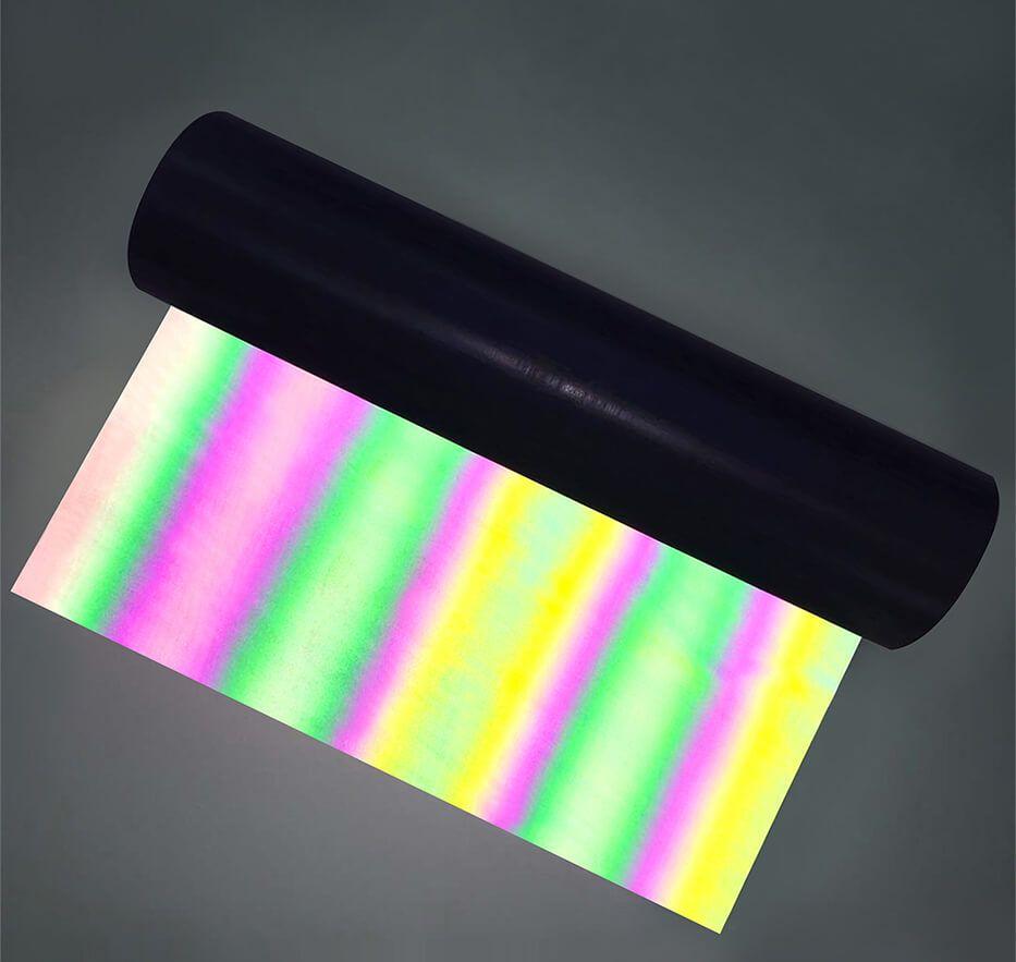 Refletivo Termocolante Arco Iris para plotter - 70 cm