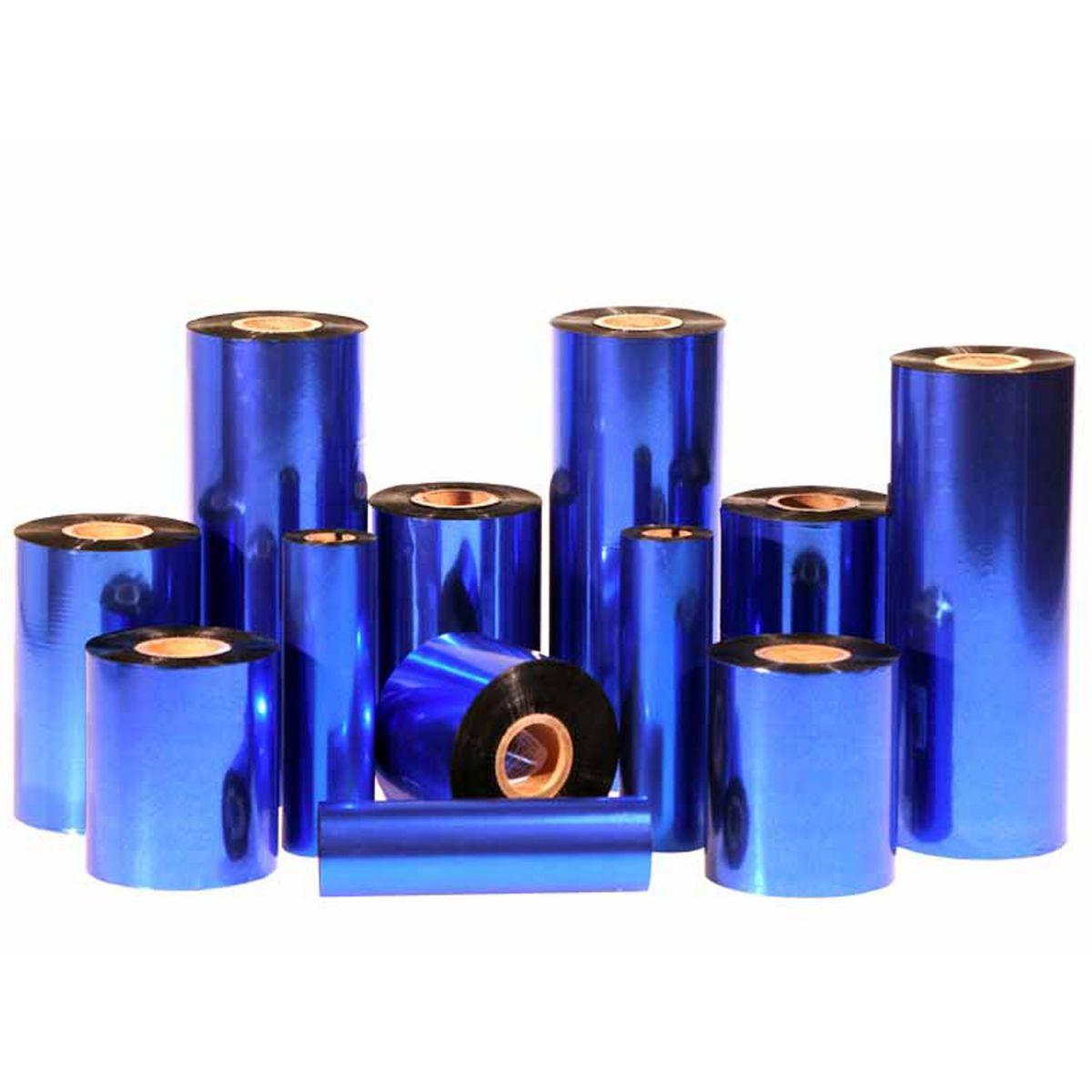 Ribbon Hot Stamping Cliche Azul Royal