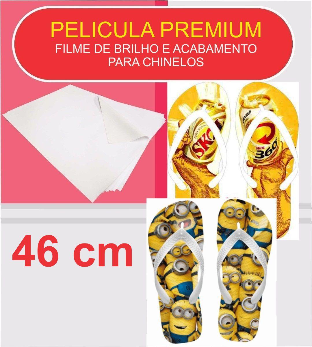 Sublitex Chinelos + Pelicula Premium - 46 Cm - 5 Mts Cada