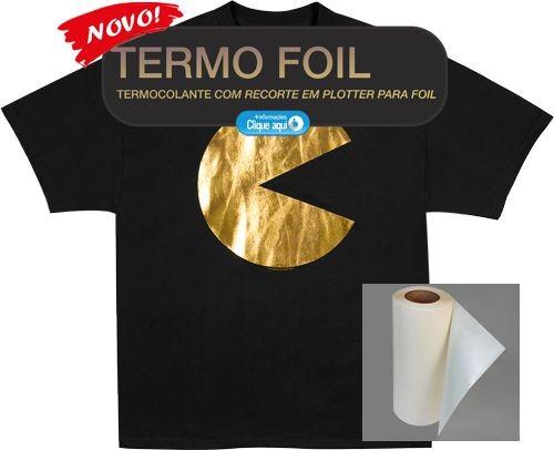 Novo Termo Foil - Termocolante Para Foil - A3
