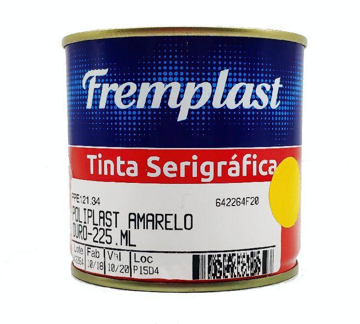 TINTA SERIGRAFIA POLIETILENO AMARELO OURO - 225 ml
