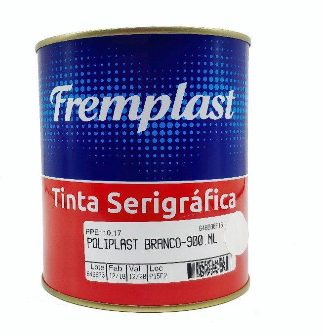 TINTA SERIGRAFIA POLIETILENO BRANCO - 900 ml
