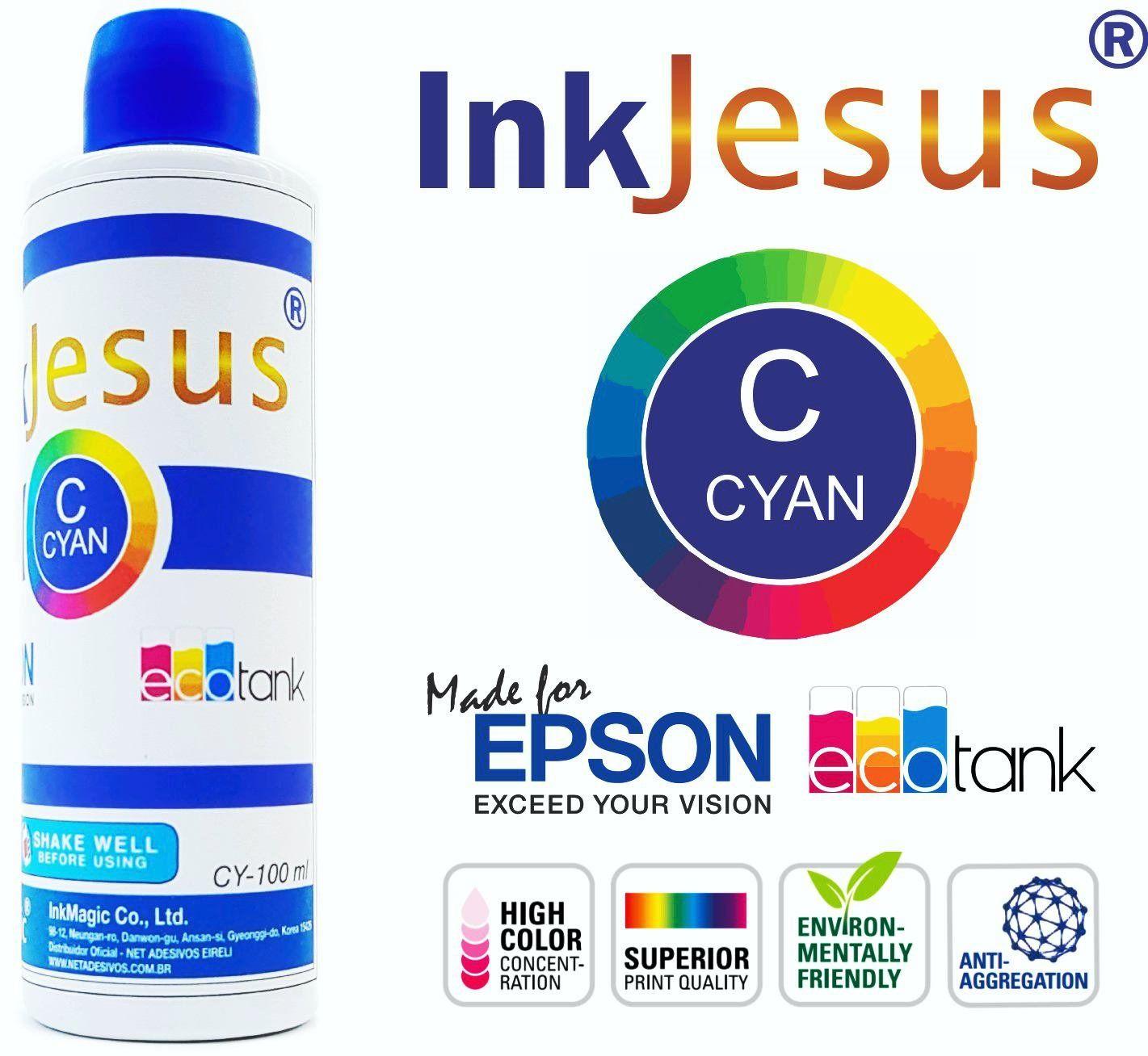 Tinta Sublimática InkJesus 7 X 100 Ml - Escolha A Cor