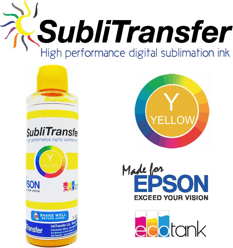 Tinta Sublimatica InkTransfer P/ Epson - 4 Litros