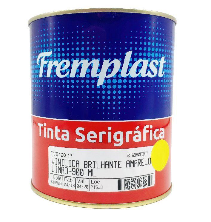 TINTA VINILICA BRILHANTE AMARELO LIMÃO - 900 ml