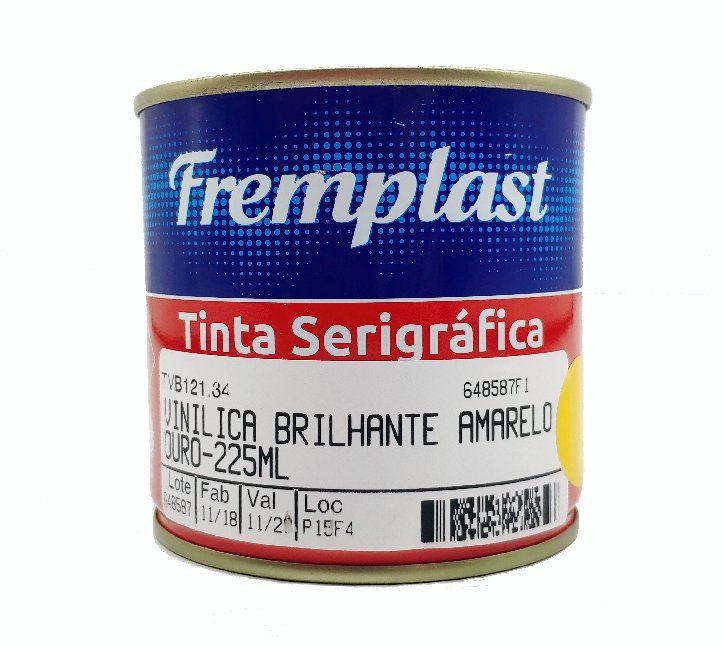 TINTA VINILICA BRILHANTE AMARELO OURO - 225 ml