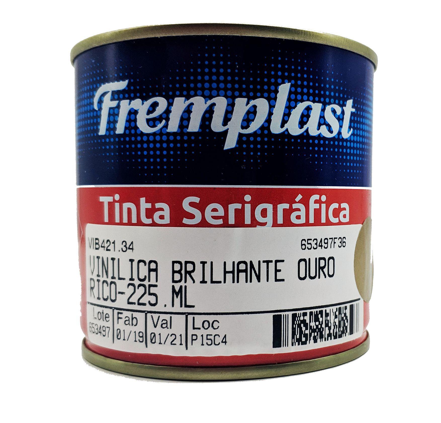 TINTA VINILICA BRILHANTE OURO RICO - 225 ml