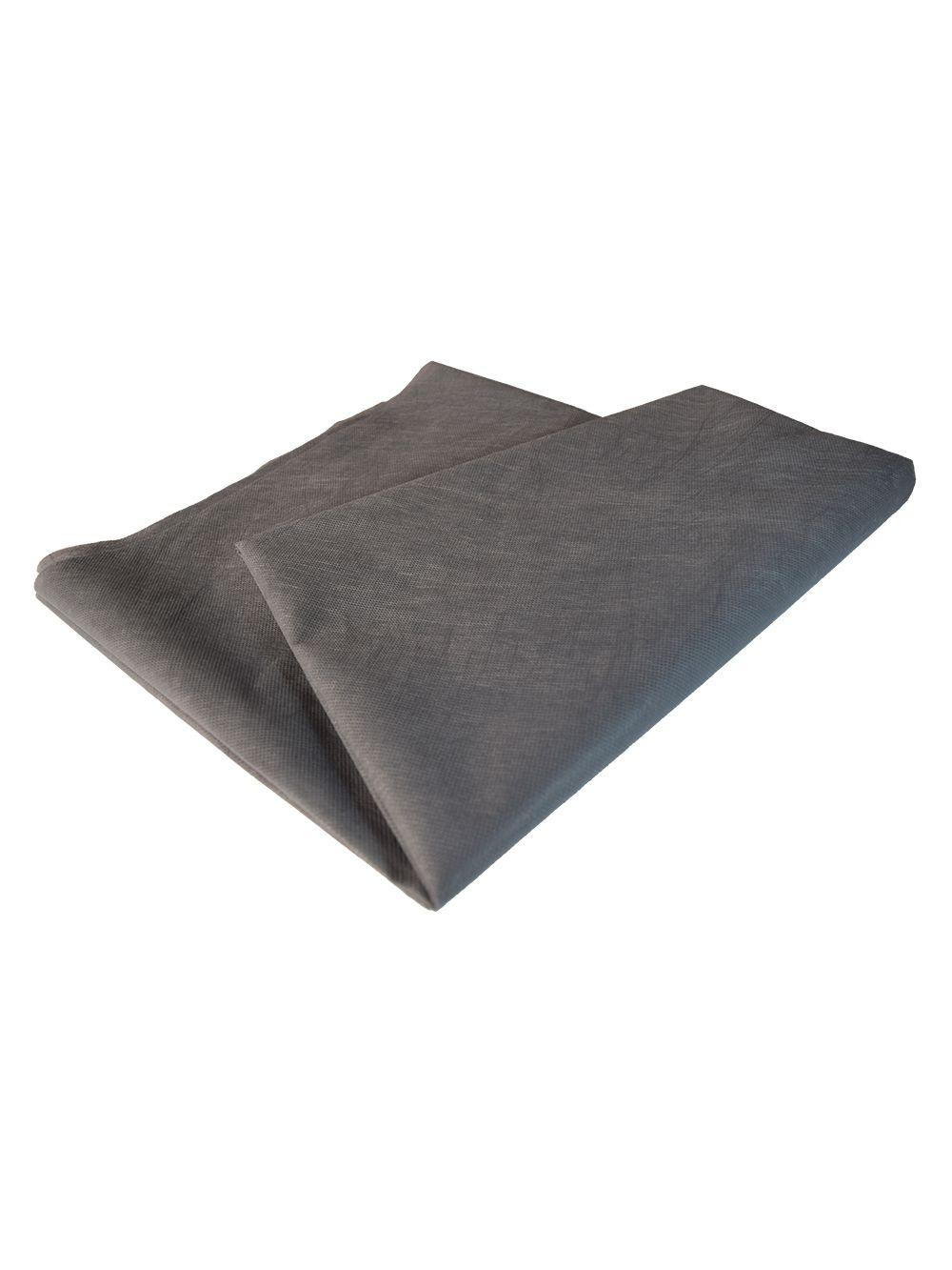 Tnt Tecido Não Tecido - 80gr - Cinza - 30 cm largura