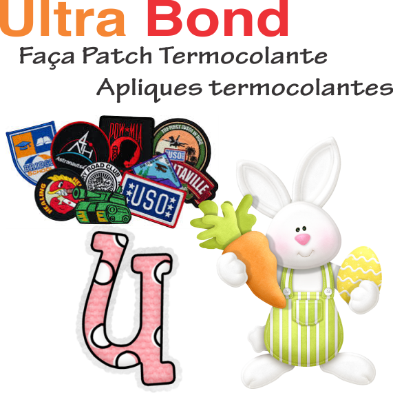 ULTRA Bond - Termocolante Forte Bordado e Patch - FOLHA A4