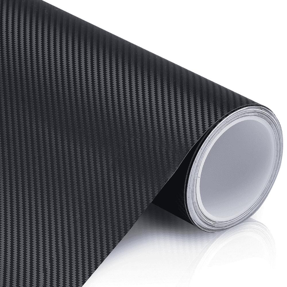 Vinil Adesivo Envelopamento Fibra Carbono 3D 1,22 mt