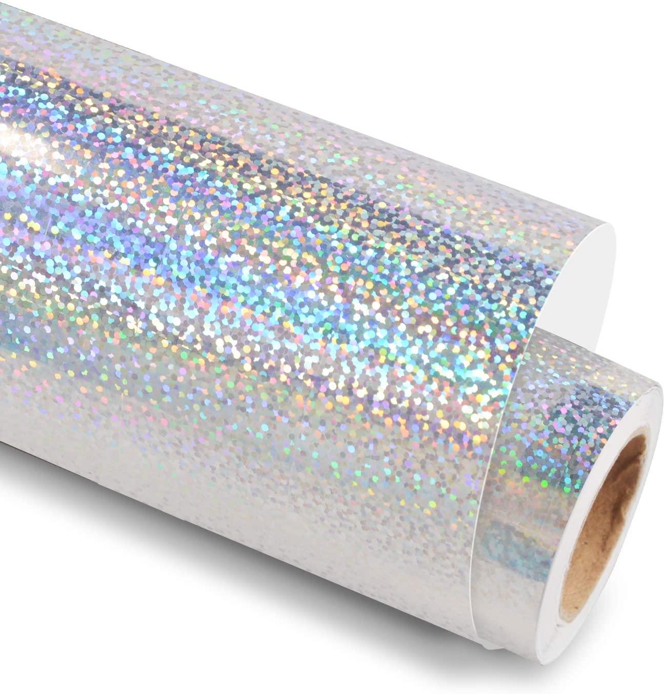Vinil Envelopamento Holografico Glitter - 60 CM