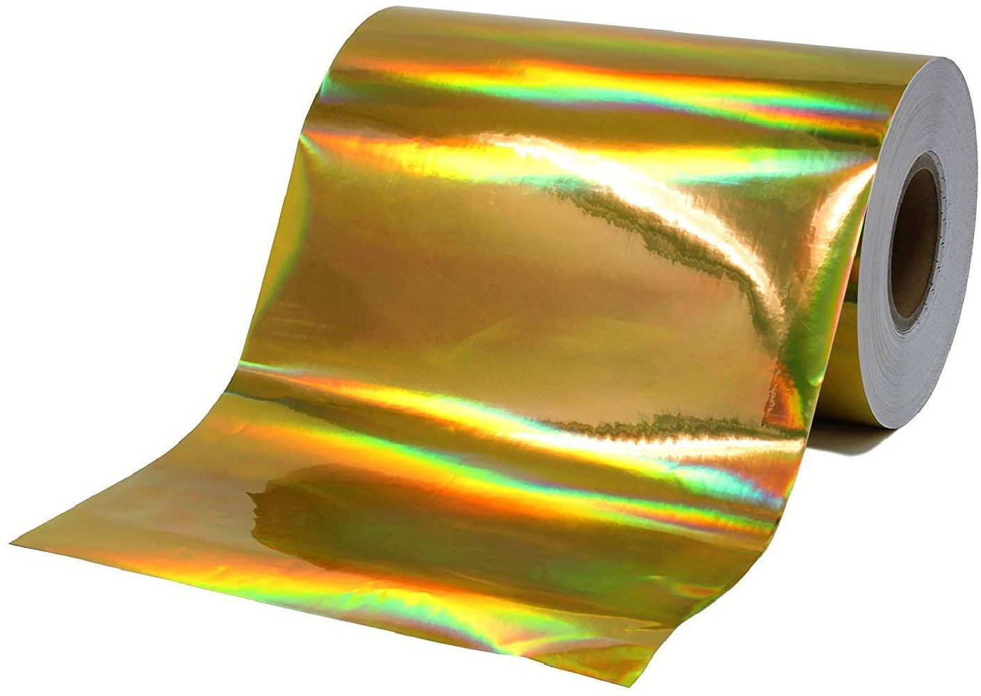 Vinil Adesivo Envelopamento Holografico Ouro - 60 CM