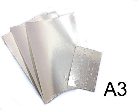 Vinil Adesivo Prata P/ Sublimação ou Laser - A3