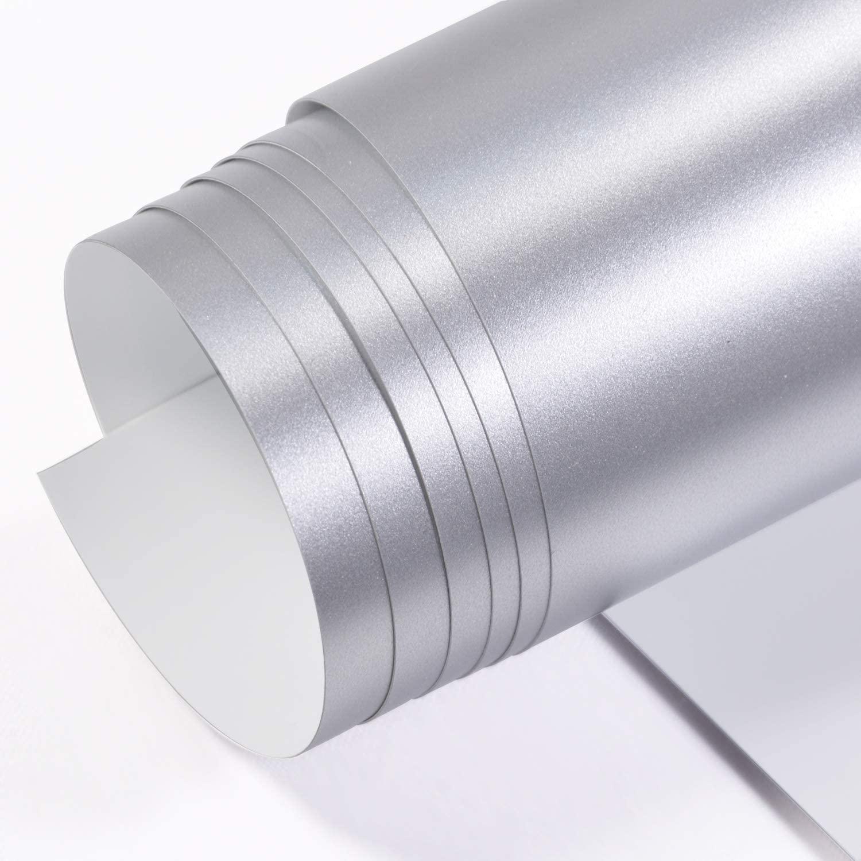 Vinil Envelopamento Prata Fosco - 60 CM