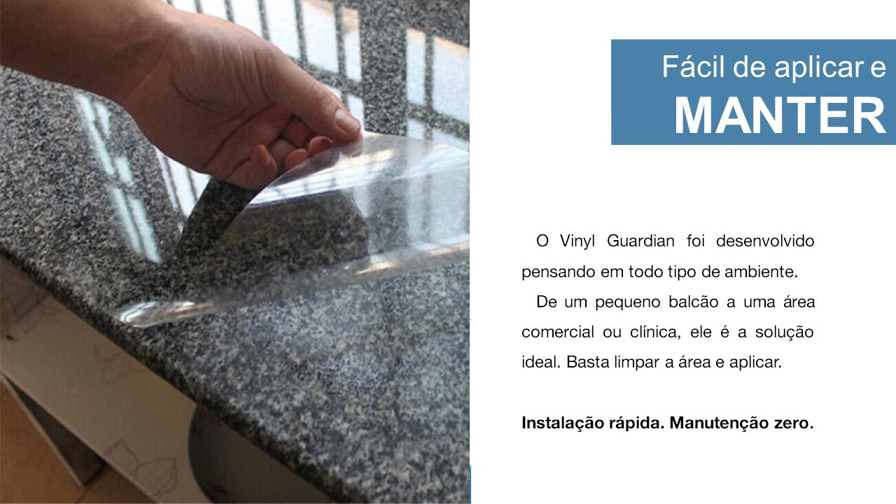 Vinil Guardian Adesivo Antiviral - Rolo 50 mts x 5 cm