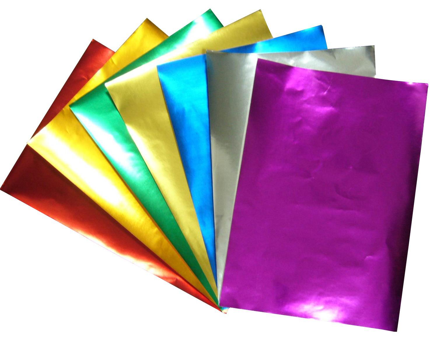Vinil Adesivo Metalico p/ Recorte Silhouette Scrapbook - A4