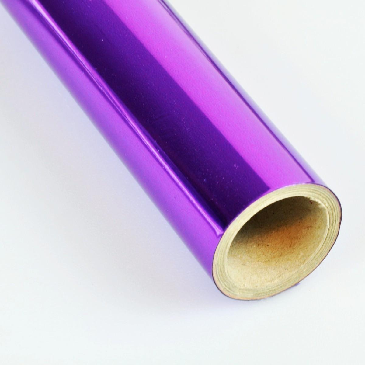 Vinil Violeta Metalico p/ Envelopamento - 60 CM