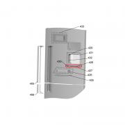 Amortecedor da Porta Geladeira Brastemp BRV80 Original W10452345