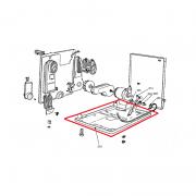 Capa Base Inferior para Secadora de Roupas Brastemp W10292795 Original